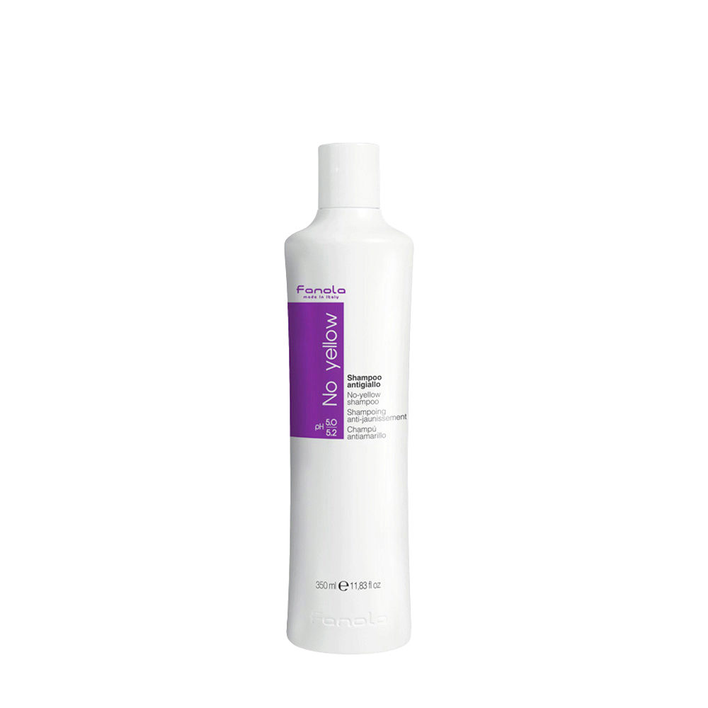 Fanola Shampoo Antigiallo per Capelli Biondi 350ml