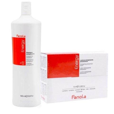 Fanola Anticaduta Shampoo 1000ml e Fiale 12x10ml