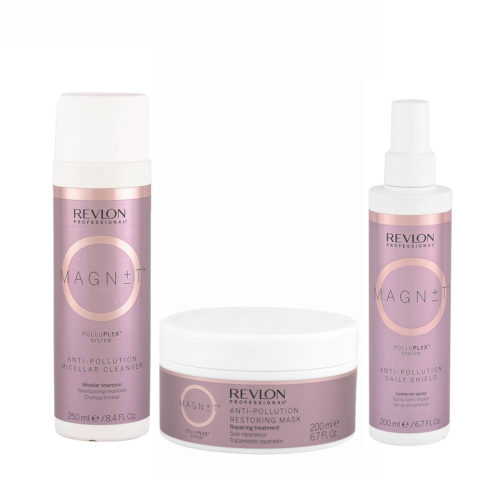 Revlon Ristrutturante Capelli Rovinati Shampoo 250ml Maschera 200ml Spray 200ml