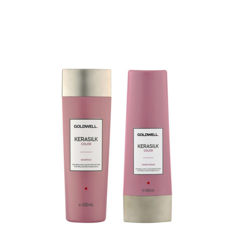 Goldwell Kerasilk Capelli Colorati Shampoo 250ml Balsamo 200ml