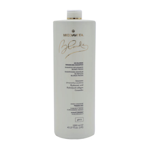 Medavita Blondie Ice Shampoo Riflessante per Biondi freddi 1250ml