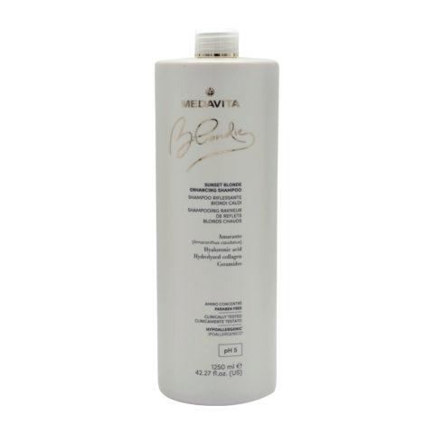 Medavita Blondie Sunset Shampoo Riflessante per Biondi Caldi 1250ml