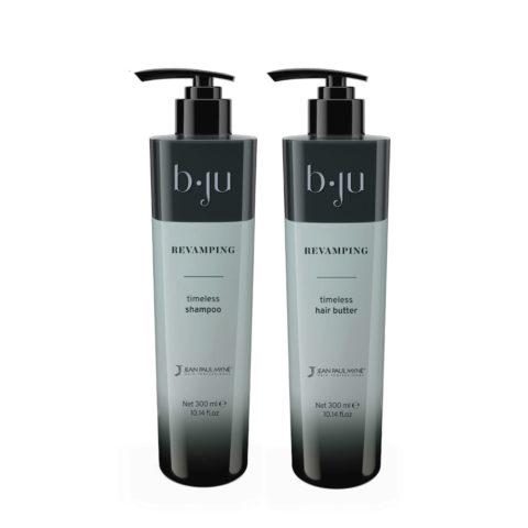 Jean Paul Mynè b ju Revamping Shampoo Idratante 300ml Balsamo 300ml