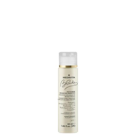 Medavita Blondie Ice Shampoo Riflessante per Biondi freddi 55ml