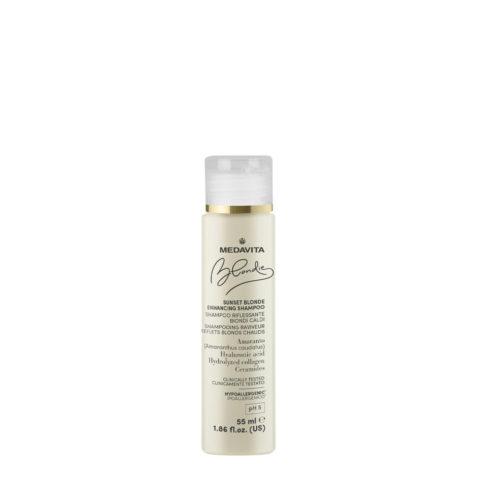 Medavita Blondie Sunset Shampoo Riflessante per Biondi Caldi 55ml