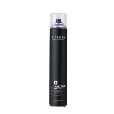 Alterego Styling Spray It On Hairspray Lacca Tenuta Extra Forte 500ml