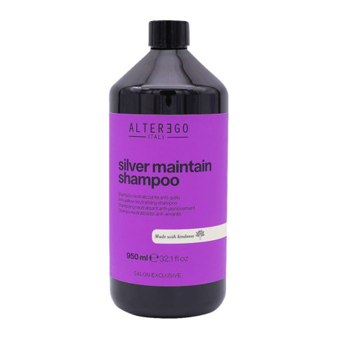 Alterego Silver Maintain Shampoo Antigiallo 950ml