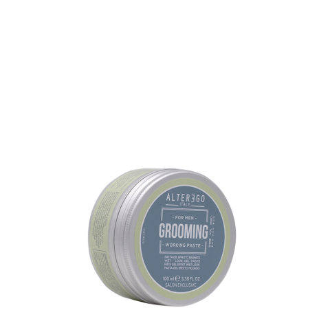 Alterego Grooming Styling Working Paste Cera effetto bagnato 100ml