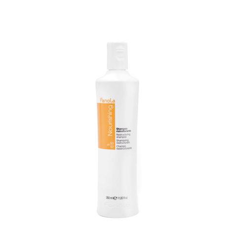 Fanola Nourishing Shampoo Ristrutturante Capelli Danneggiati 350ml