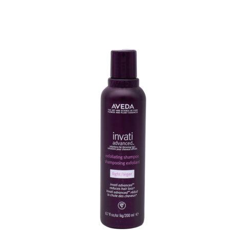 Aveda Invati Advanced Shampoo Esfoliante Leggero per Capelli Fini 200ml
