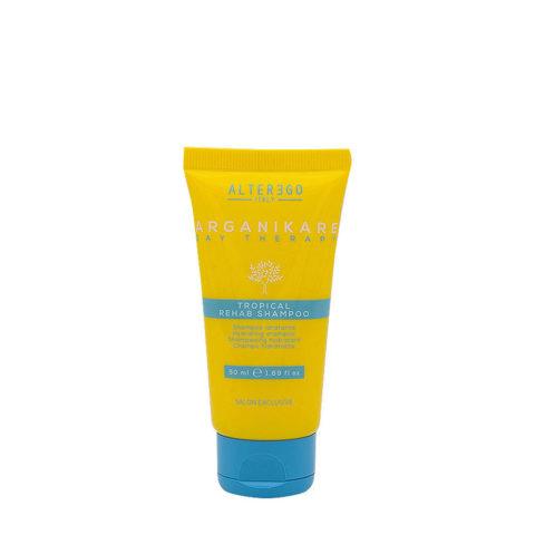 Alterego Tropical Rehab Shampoo Idratante Doposole 50ml