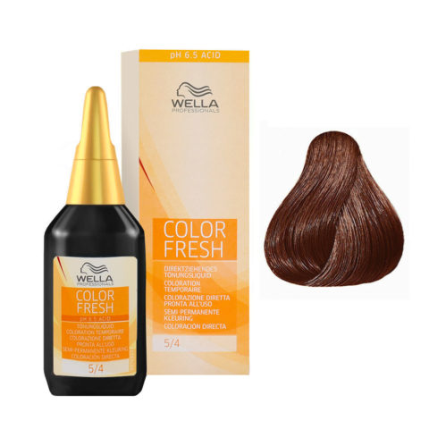 5/4 Castano chiaro ramato Wella Color fresh 75ml