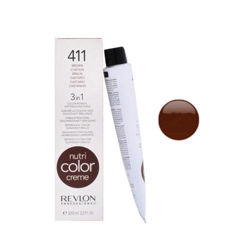 Revlon Nutri Color Creme 411 Castano 100ml - maschera colore