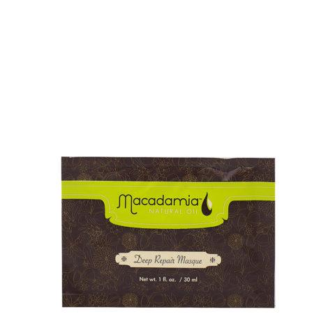 Macadamia Maschera Riparatrice per Capelli molto Rovinati 30ml