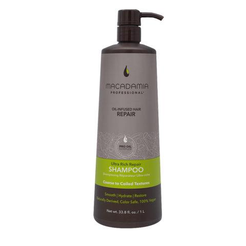 Macadamia Ultra Rich Shampoo per Capelli Rovinati e Grossi 1000ml