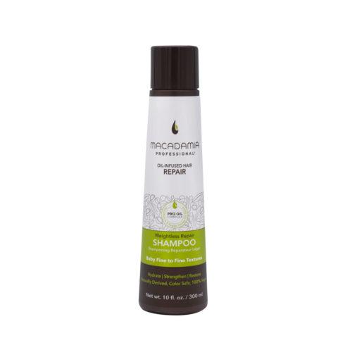 Macadamia Weightless Shampoo Idratante per Capelli Rovinati e Fini 300ml