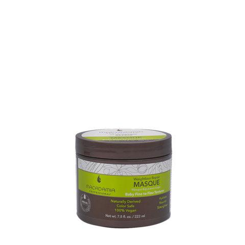 Macadamia Weightless Maschera Idratante per Capelli Rovinati e Fini 222ml
