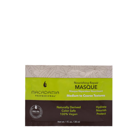 Macadamia Nourishing Maschera Idratante per Capelli Rovinati e Secchi 30ml