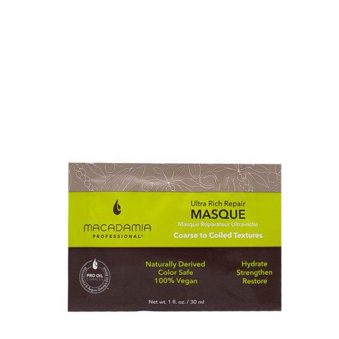 Macadamia Ultra Rich Maschera Idratante per Capelli Rovinati e Grossi 30ml