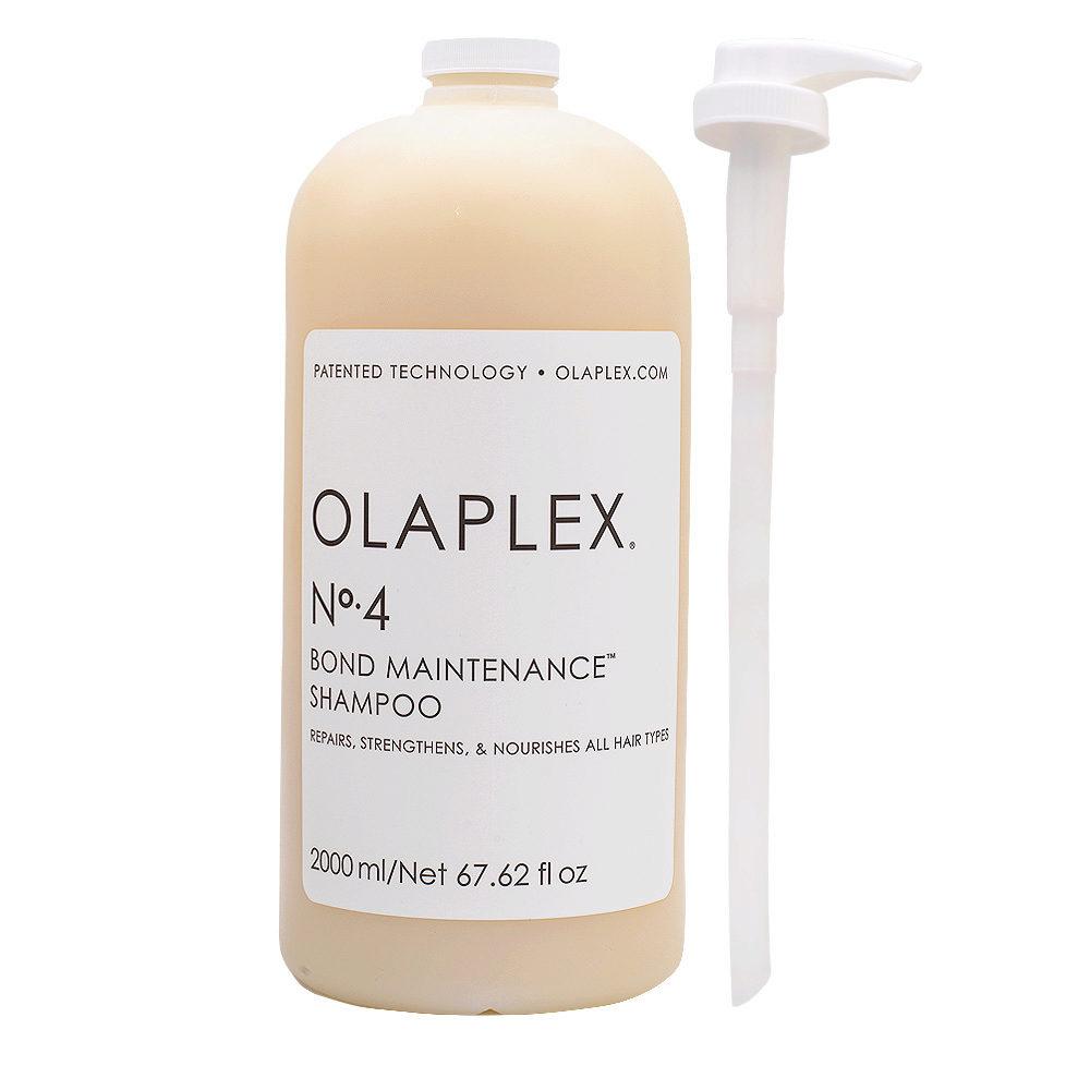 Olaplex N.4 Shampoo Ristrutturante per Capelli Rovinati  2000ml