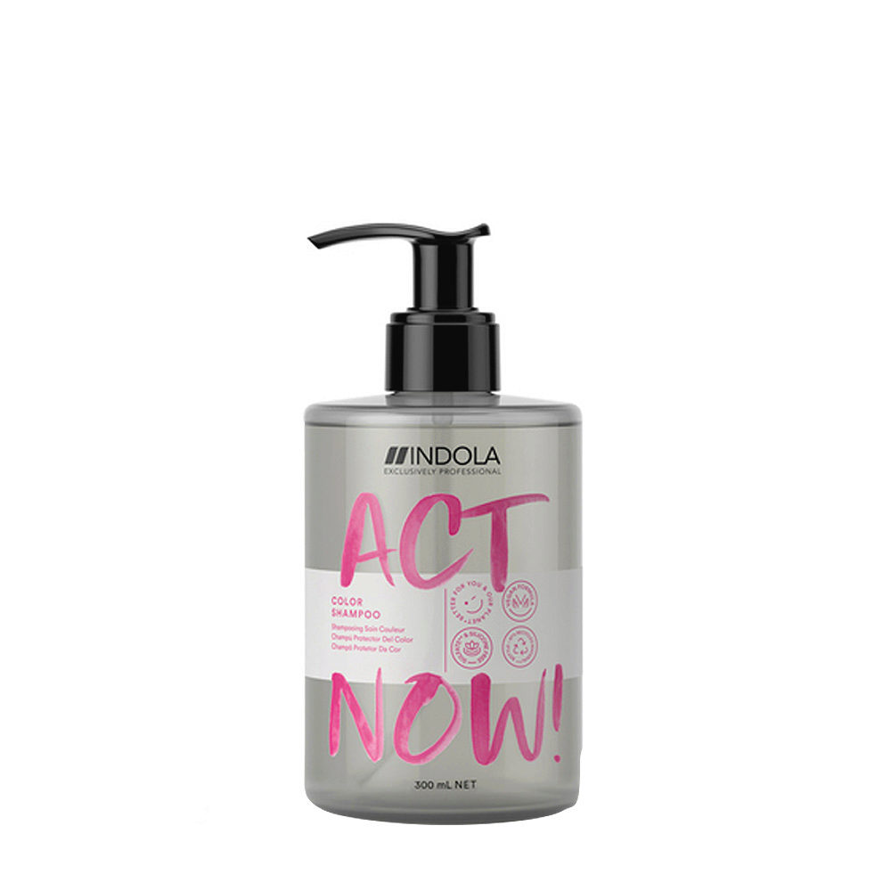 Indola Act Now! Color Shampoo per Capelli Colorati 300ml