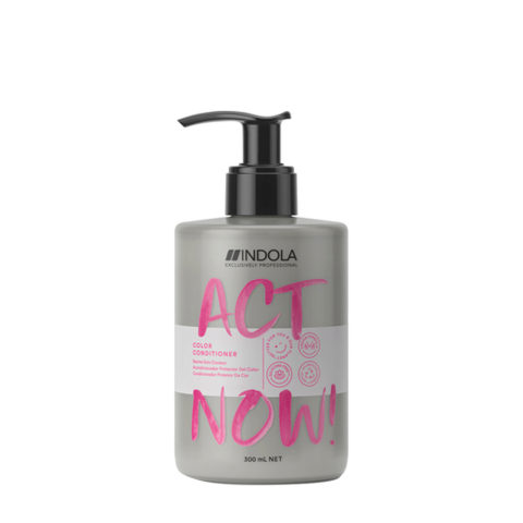 Indola Act Now! Color Balsamo per Capelli Colorati 300ml