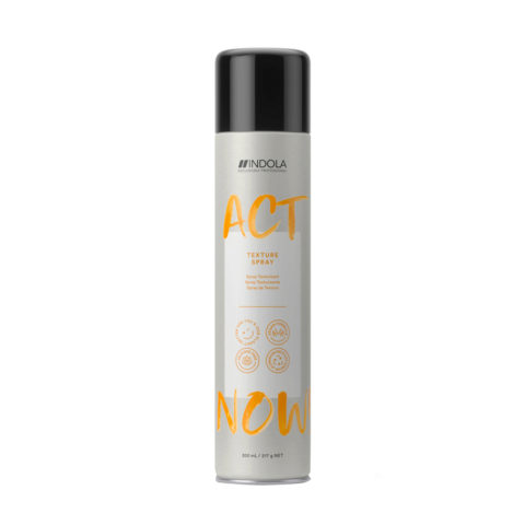 Indola Act Now! Texture Spray Volumizzante per Capelli Fini 300ml