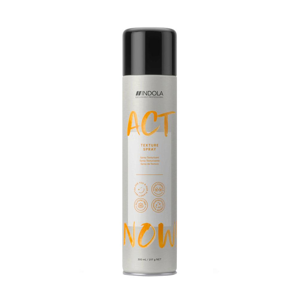 Indola Act Now! Texture Spray Volumizzante per Capelli Fini 300ml
