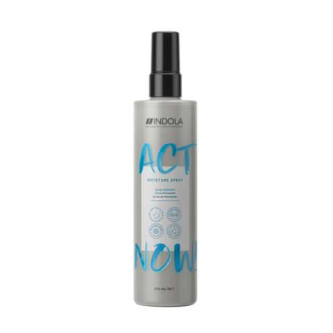 Indola Act Now! Moisture Spray Idratante per Capelli Secchi 200ml