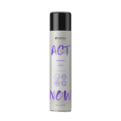 Indola Act Now! Hairspray Lacca Tenuta Media 300ml