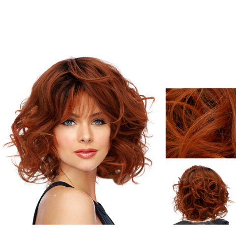 Hairdo On The Edge Parrucca Rosso Fuoco