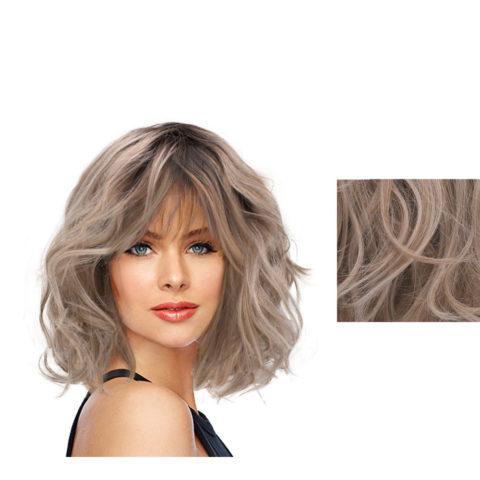 Hairdo On The Edge Parrucca Biondo Chiaro Cenere Con Radice Castana