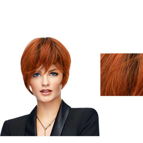Hairdo Parrucca Angled Cut Rosso Fuoco