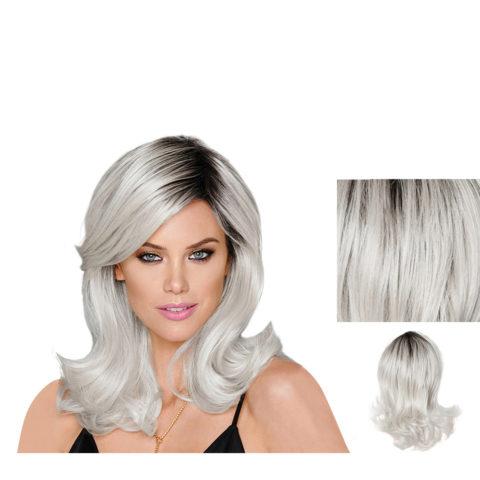 Hairdo Parrucca Whiteout Bianca grigia