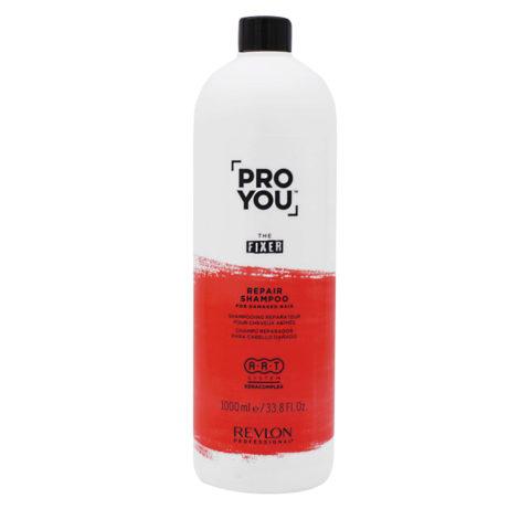 Revlon Pro You The Fixer Shampoo per Capelli Rovinati 1000ml
