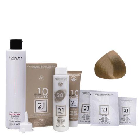 21 Ventuno Kit Colorazione 9.0 Biondo Chiarissimo + Shampoo Omaggio 250ml