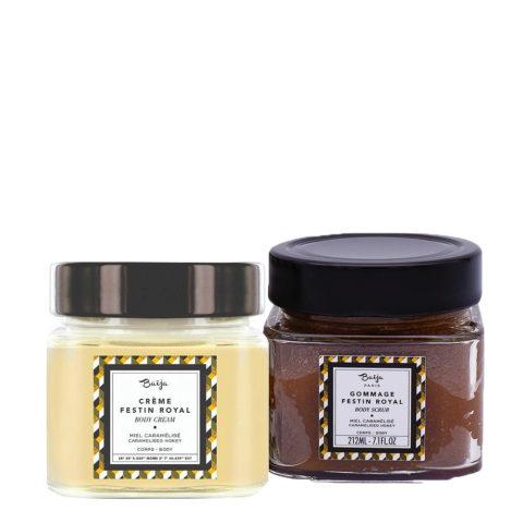 Baija Paris Kit Crema Corpo 212ml e Scrub Esfoliante Corpo al miele 249gr