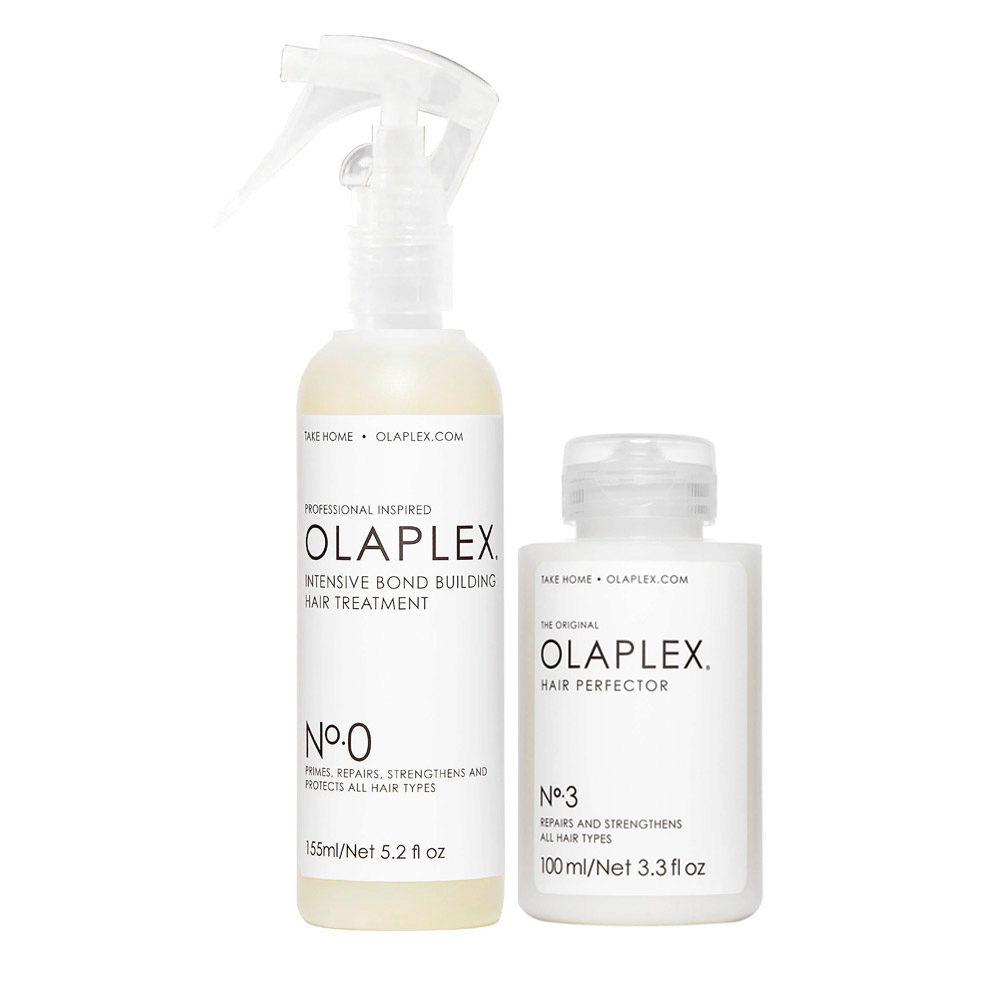 Olaplex Set di Trattamenti Pre Shampoo per Riparare i Capelli Rovinati