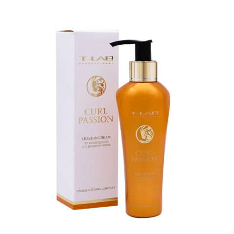 T-Lab Curl Passion Leave In Cream Crema per Capelli Ricci 130ml