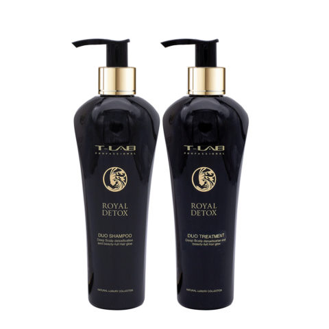 T-Lab Royal Detox Duo Shampoo 250ml e Balsamo 250ml
