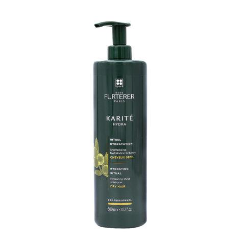 René Furterer Karité shampoo idratante per capelli secchi 600ml