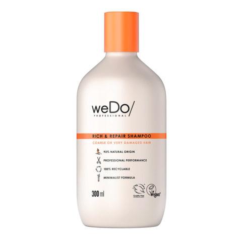 weDo Rich & Repair Shampoo senza Solfati per Capelli Crespi molto Rovinati 300ml