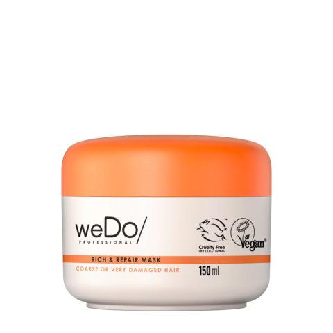 weDo Rich & Repair Maschera Nutriente per Capelli Crespi o molto Rovinati 150ml