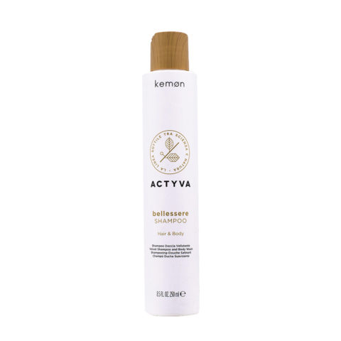 Kemon Actyva Bellessere Shampoo corpo e capelli 250ml