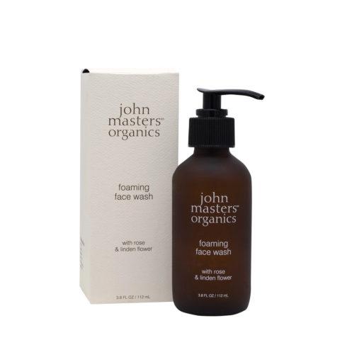John Masters Organics Schiuma Detergente Viso alla Rosa 112ml