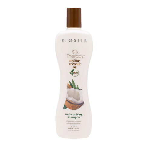 Biosilk Silk Therapy With Coconut Oil Shampoo Idratante 355ml