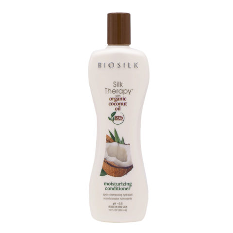 Biosilk Silk Therapy With Coconut Oil Balsamo Idratante 355ml