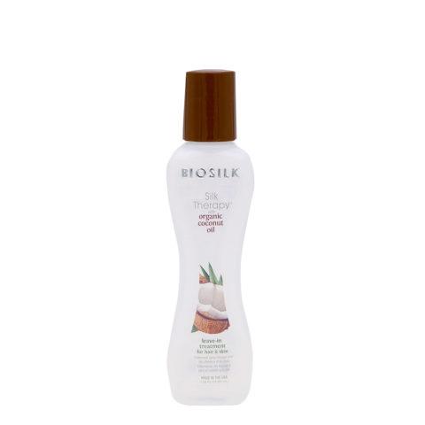 Biosilk Silk Therapy Coconut Oil Siero senza risciacquo corpo e capelli 67ml