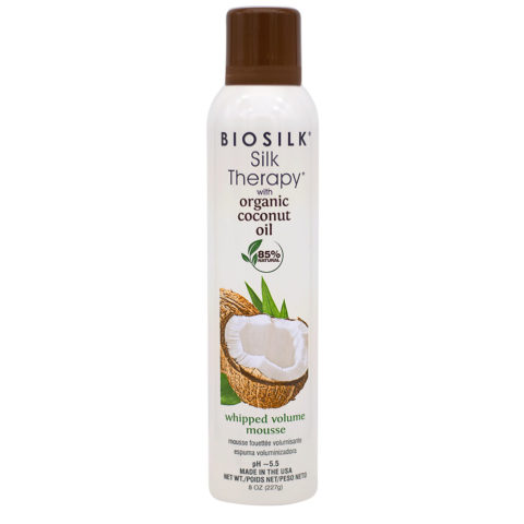 Biosilk Silk Therapy With Coconut Oil Schiuma Volumizzante Idratante 227gr