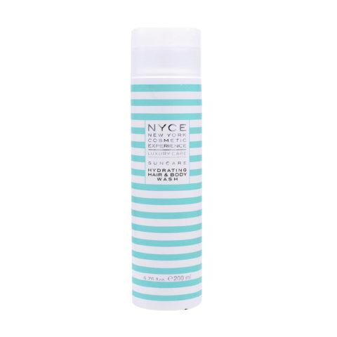 Nyce Suncare Hydrating Hair & Body Wash Shampoo Doccia Idratante 200ml